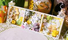Handmade tales: Easter shadow box