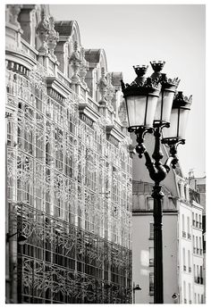"""Black and white Paris wall art print by RivuletPhotography From series """"Pages from Paris Moleskine"""" #etsygifts #parisphoto #gifts #photography #print #wallart #paris #buyonline #buyart"""