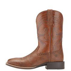 Ariat Men's Sport Wide Square-Toe Boots