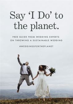 Did you know an average wedding produces 400 pounds of waste Learn how to throw a sustainable wedding with our 32 page guide from ecofriendly wedding experts Paper Culture offers sustainable design - Wedding Planning Guide, Wedding Tips, Our Wedding, Eco Wedding Ideas, Wedding Themes, Wedding Table, Nachhaltiges Design, Paper Culture, Sustainable Wedding