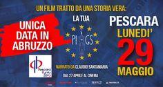 Pescara Proiezione Piigs unica data in Abruzzo