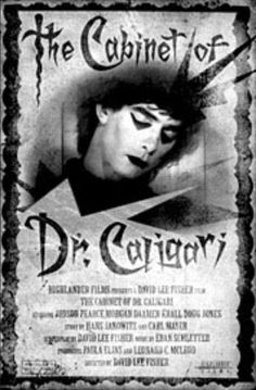 Cabinet of Dr. Caligari, the first zombie in a film.