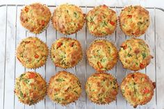 Delicious savoury muffins packed full of vegetables like spinach and peppers; perfect for a family lunch or a kids afternoon snack! I don't know what it is about this time of year but it always makes me crave big fluffy savoury muffins. Packed with cheesy deliciousness I guess they are the ultimate comfort food that...Read More »