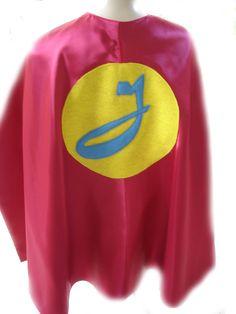 Childrens Custom Personalized Superhero Double Sided Birthday Kids Cape. $30.00, via Etsy.