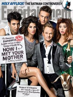 This Week's Cover: Haaave you met… the latest issue of EW with the cast of 'How I Met Your Mother'?