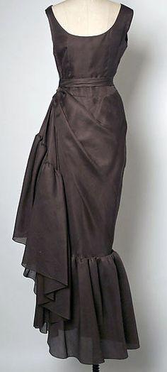 Balenciaga - Vintage - Robe 'Drapée' - Soie - 1963-67