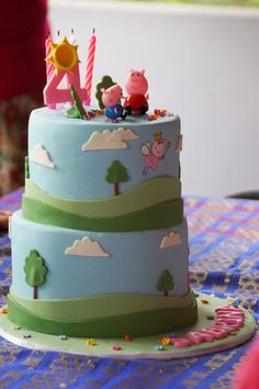 Party- peppa pig ideas