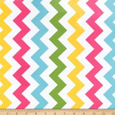 Riley Blake Laminate Medium Chevron Girl from @fabricdotcom  Designed by RBD Designers for Riley Blake, this laminated cotton print fabric meets the key provisions of the CPSIA (Comprehensive Consumer Product Safety Improvement Act of 2008). This fabric does not contain any lead or thyolate. Soft, protective film is laminated to the face of the fabric, its softness makes this cloth extremely pliable for fashion, and the durability combined with easy-care convenience (cleans up easily with a…