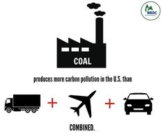 US coal plants emit more carbon #pollution than trucks, cars, airplanes COMBINED http://j.mp/1zZQU5t  pic.twitter.com/F1OkPSBbVB