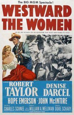 Westward the women / Caravana de mujeres. DIR. William A. Wellman ☆☆☆☆