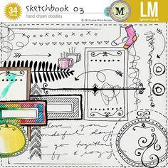The Lilypad :: Element Packs :: Doodles :: Sketchbook 03 *M3 Oct