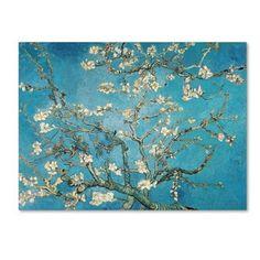 Vincent van Gogh 'Almond Branches In Bloom' Canvas Art