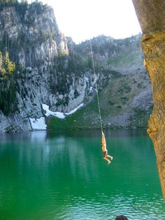 Bloomington lake -- near Bear Lake. Idaho.