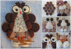 How to make a Cupcake Owl Cake