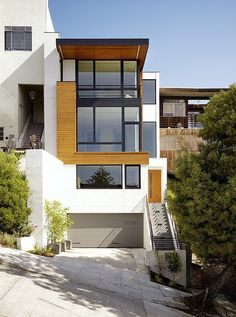Striking Hill Street Residence in San Francisco - minimalistic elegance