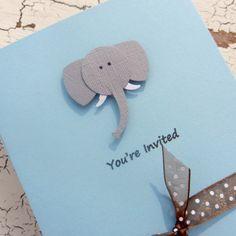 Elephant Baby Shower Invitations  Custom  by EmbellishbyJackie, $2.00