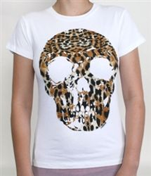 Loungefly Leopard Skull Tee