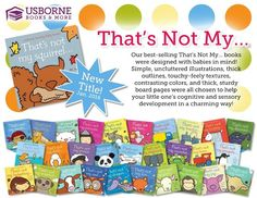 Have you seen our That's Not My books? They are great touchy feely books for babies and toddlers. https://c5031.myubam.com/