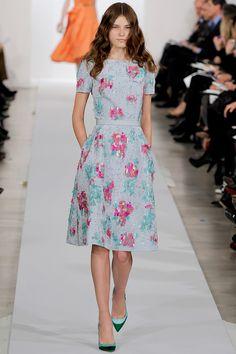 Oscar de la Renta Pre-Fall 2013 - Review - Collections - Vogue