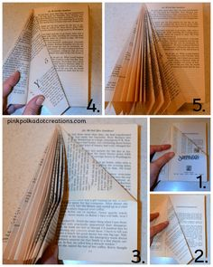 how to make book trees Book Tree, Pink Polka Dots, Book Making, Clever, Trees, Thoughts, Crafts, Manualidades, Tree Structure