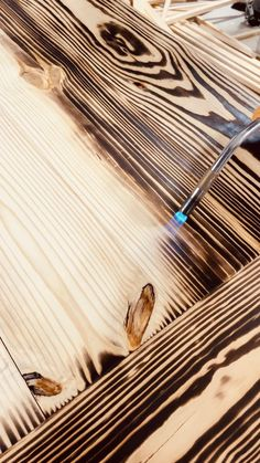 Torched Table Top Kids Play Kitchen DIY Woodworking Plan - Abbotts At HomeThis DIY play kitchen is so fun and pretty.