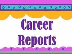 Career research report resources for Georgia's 5th Grade Career Portfolio Project or ANY career research writing activity!