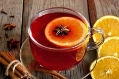 Ukrainian cooking: Hot Juice Toddy