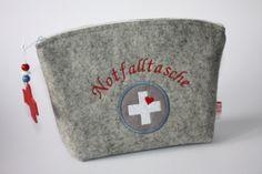 mittlere Notfalltasche Stickdatei Buntiges