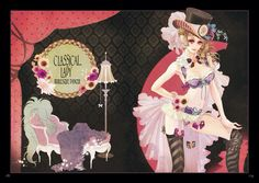 Hiromi Matsuo Japanese Illustration, Manga Illustration, Manga Art, Anime Art, Alice Book, Lolita Goth, I Love Anime, Pretty Art, Anime Comics