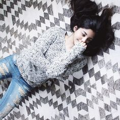 Style blogger Florencia from Flo Loves Clothes. #iweargarage #denimsquad