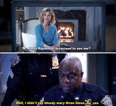 """19 """"Brooklyn Nine-Nine"""" Episodes I Find Unbelievably Perfect From Start To Finish Haha Funny, Funny Memes, Hilarious, Best Tv Shows, Favorite Tv Shows, Brooklyn Nine Nine Funny, Charles Boyle, Funny Picture Quotes, Funny Pictures"""