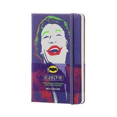 Moleskine Joker Weekly Planner, ($21) ❤ liked on Polyvore featuring home, home decor, stationery and purple