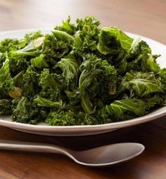 "Recipe for Bobby Flays Sauteed Kale - wow - I did not know this! ""Kale is so good for you they tell you not to eat it if you're on blood thinner medication"". why not switch from the meds to kale? Side Dish Recipes, Vegetable Recipes, Vegetarian Recipes, Cooking Recipes, Healthy Recipes, Top Recipes, Cooked Kale Recipes, Bobby Flay Recipes, Cooking Kale"