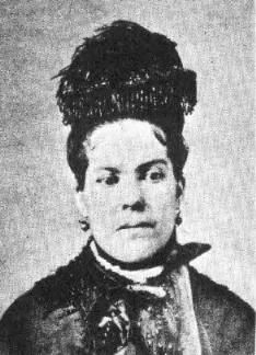 Urilla Earp (1849 - 1870) Wife of Wyatt Earp. *Urilla was pregnant and about to deliver their first child when she died from typhoid fever.