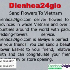 Send Flowers To Vietnam • Dienhoa24gio.com deliver flowers to 60 provinces in whole Vietnam and over 140 countries around the world with package wedding-flo. http://slidehot.com/resources/send-flowers-to-vietnam.53071/