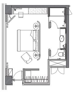 69 Ideas For Bedroom Design Hotel Floor Plans Master Bedroom Plans, Master Bedroom Layout, Bedroom Floor Plans, Master Room, Bedroom Layouts, Bedroom Club, Master Bedrooms, The Plan, How To Plan