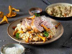 Risotto, Lamb, Ethnic Recipes, Pork, Meat, Kale Stir Fry, Pork Chops, Baby Sheep