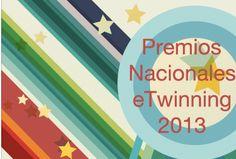 Marzo 2013. Madrid. Ceremonia de entrega de premios nacionales eTwinning 2013. Sergio González Moreau y Margarita Gentil Benítez, ambos del I.E.S. Luis de Camoens, entre los premiados.