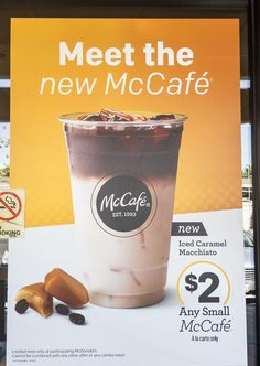 McCafé – Nothing Comes Before Coffee! Don't wait so long to take a break at work, grab a from Food Poster Design, Menu Design, Mccafe Coffee, Rollup Banner Design, Standing Banner Design, Mcdonalds Coffee, Pop Posters, Food Banner, Coffee Menu
