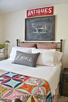 Bedroom fabric