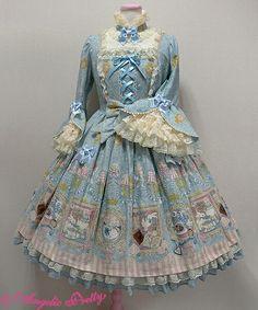 Wonder gallery long sleeved op in blue
