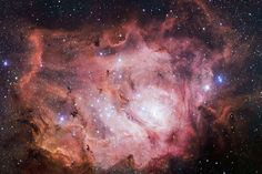 WIRED Space Photo of the Day | Jan. 26, 2014: Stunning Lagoon Nebula  ESO/VPHAS  team  | WIRED.com