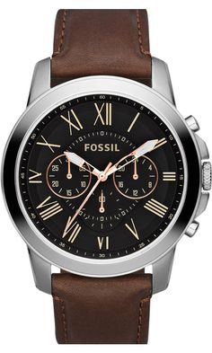 Fossil #FS4813 Mens GRANT Watch