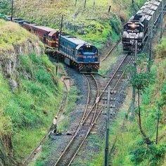 It's a train wreck By Train, Train Tracks, Train Rides, Train Art, Diesel Locomotive, Steam Locomotive, Motor A Vapor, Rail Transport, Bonde