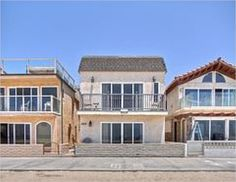 Oceanfront Duplex with Roof Deck. 3308 W. Oceanfront - Newport Beach, CA Home For Sale Roof Deck, Best Sites, Newport Beach, Awesome, Amazing, Piercings, Mansions, Rock, Website