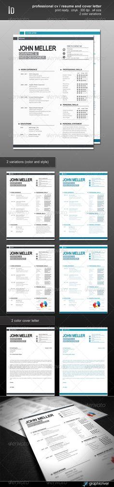 Modern Resume Template Pack Modern cv template, Modern resume - modern cv template