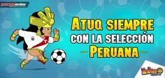 Atuq siempre con la Selección Peruana. #peru #selección #futbol #atuq #inkamadness #wp #wp7 #ios #iPhone #ipad