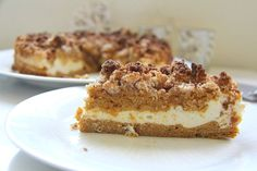 Rich, decadent, yet light PUMPKIN COFFEE CAKE with a CHEESECAKE center and a cinnamon crumble topping. MT NOTE: No need to tell anyone this is keto. See other great dessert recipe links on this page. Low Carb Deserts, Low Carb Sweets, Slider Buns, Pumpkin Recipes, Cake Recipes, Dessert Recipes, Gluten Free Coffee Cake, Baking With Coconut Flour, Almond Flour
