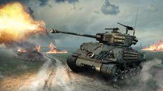 http://www.theaveragegamer.com/wp-content/uploads/2014/10/World-of-Tanks-M4A3E8-Fury-Sherman.jpg