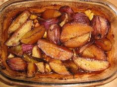 Cartofi si ceapa rosie la cuptor cu otet balsamic, Poza 5